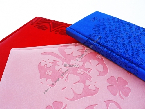 Diaries and Agendas with embossing